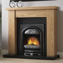 Pureglow Ludlow Oak and Juliet Electric Fireplace Suite