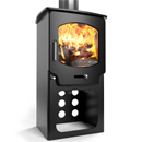 Saltfire ST-X4 Tall Multifuel Wood Burning Stove