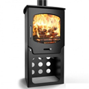 Saltfire ST-X5 Tall Multifuel Wood Burning Stove