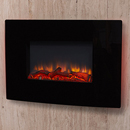 Signature Fireplaces Denver Black Wall Mounted Electric Fire