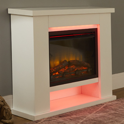 Garland Fires Nebraska Electric Fireplace Suite
