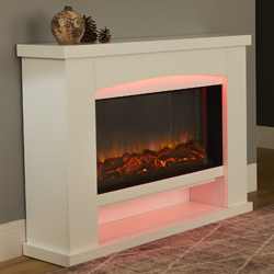 Garland Fires Ohio Electric Fireplace Suite