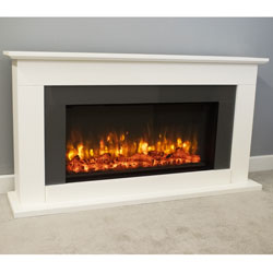 Suncrest Georgia Electric Fireplace Suite