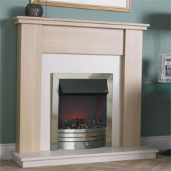 Suncrest Grasmere Electric Fireplace Suite