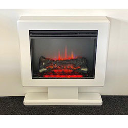 Suncrest Hove Electric Floor Mounted Fireplace Suite