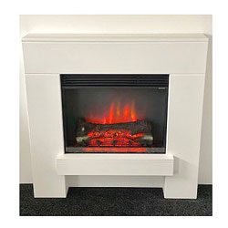 Suncrest Norton Electric Fireplace Suite