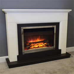 Suncrest Talent Electric Fireplace Suite