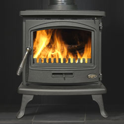 Gallery Tiger ECO Multi Fuel Wood Burning Black Stove