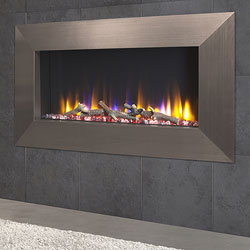 Celsi Ultiflame VR Instinct Champagne Hole in Wall Electric Fire