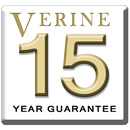 Verine 15 Year Warranty