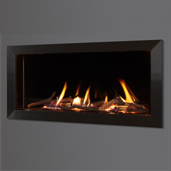 Michael Miller Collection Eden Elite HE Slimline LPG Gas Fire