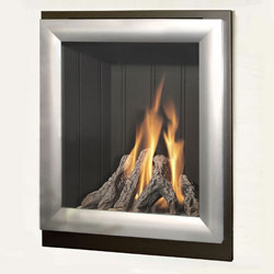 Verine Meridian HE Hearth Mounted Gas Fire