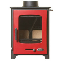 Woolly Mammoth 5 RED DOOR Multifuel Stove DEFRA