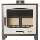 Woolly Mammoth 7 CREAM DOOR Multifuel Stove DEFRA