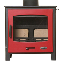 Woolly Mammoth 7 RED DOOR Multifuel Stove DEFRA